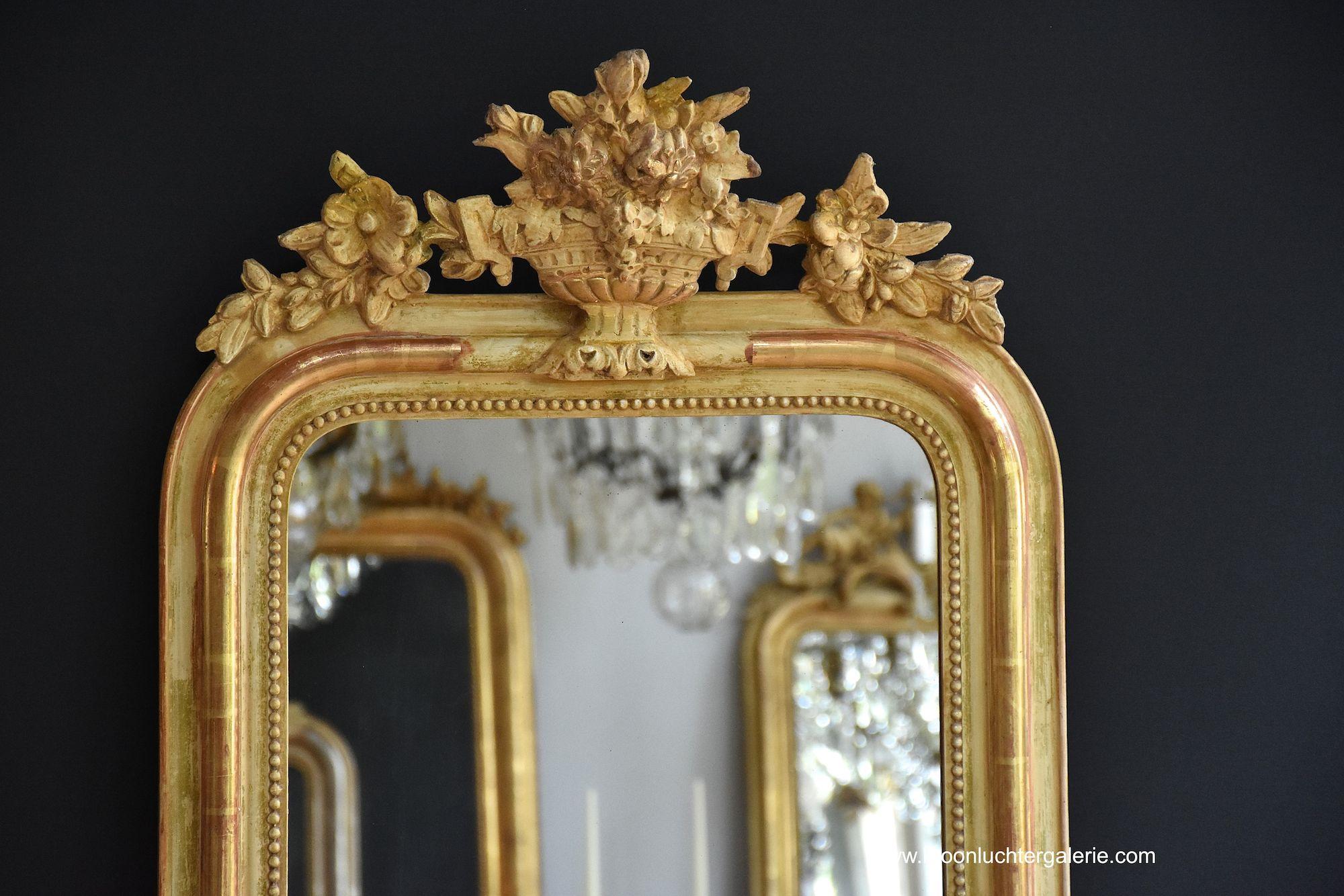 Vintage Spiegel Goud : Gouden spiegel plakspiegel makkelijk en snel te plaatsen westwing