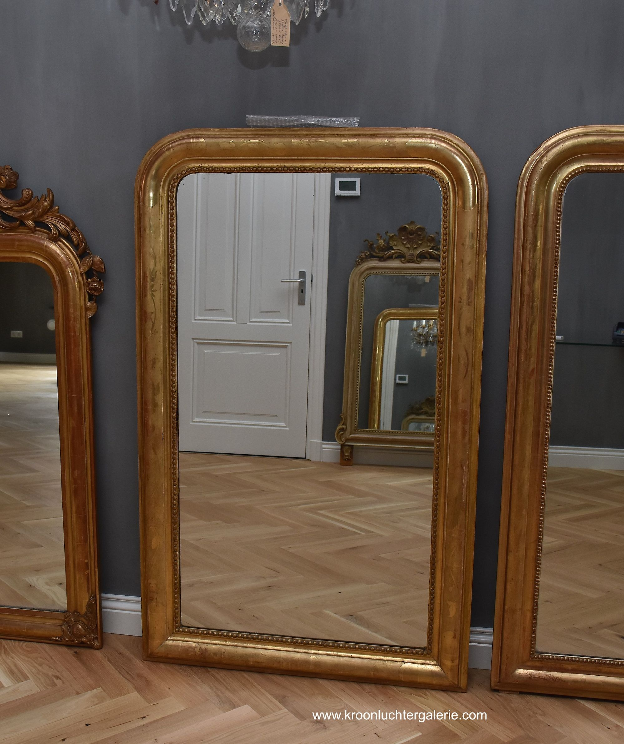 19th c. French mirror Louis-Philippe