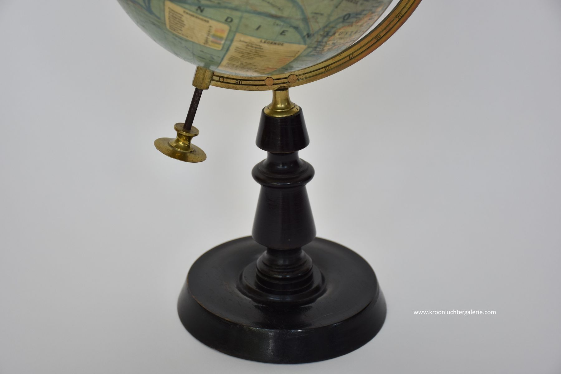 J. Forest Paris antique earth globe/ table globe