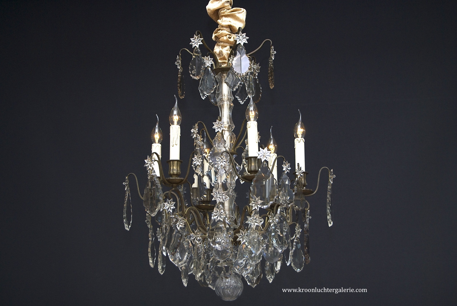 A 19th century French Chandelier