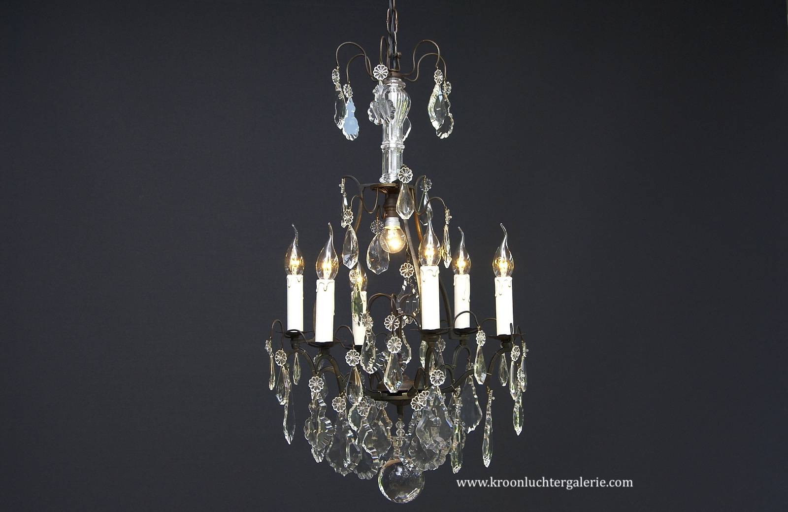 Early 20th century French chandelier with 7 light
