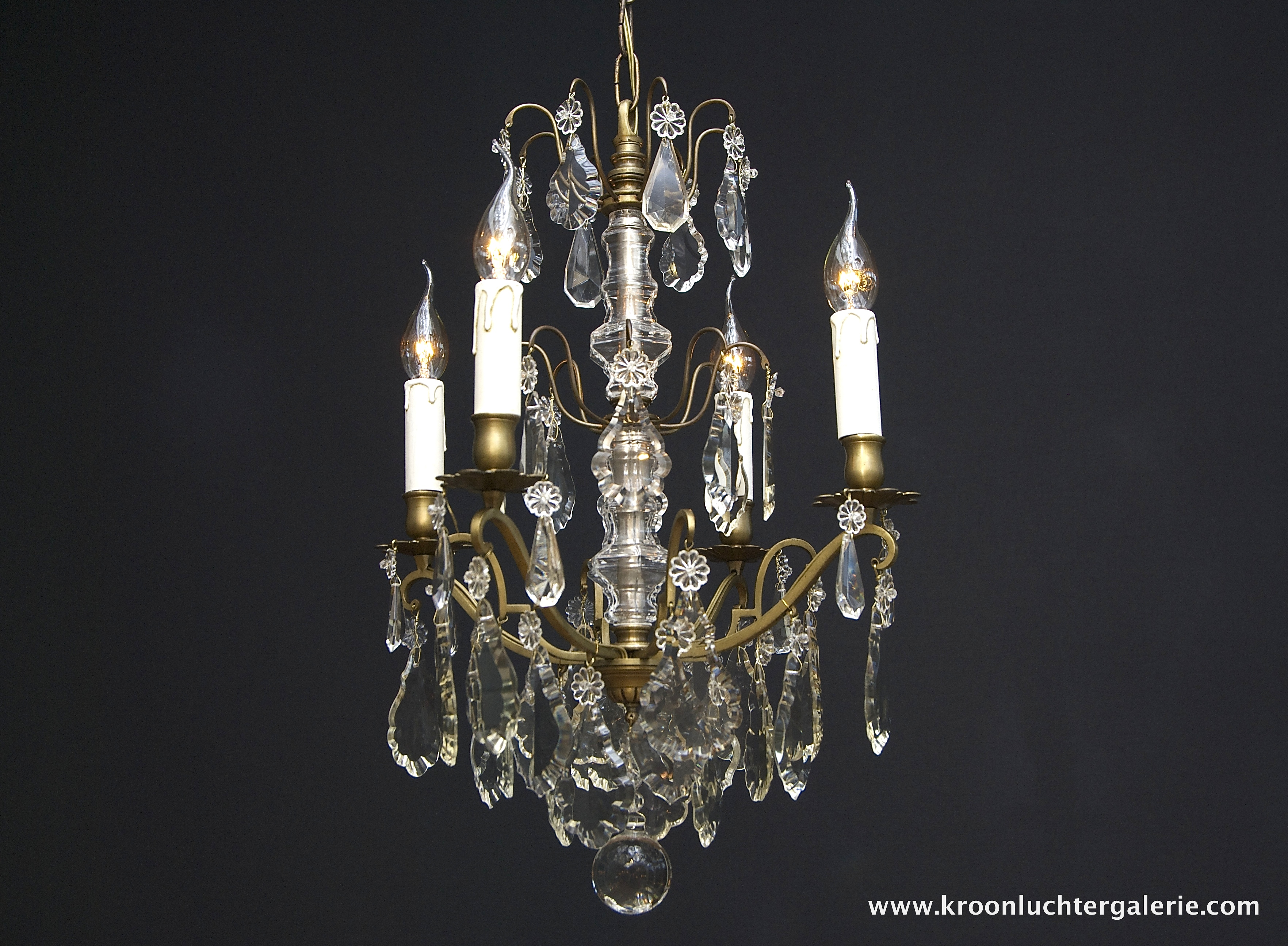 French chandelier with 4 light
