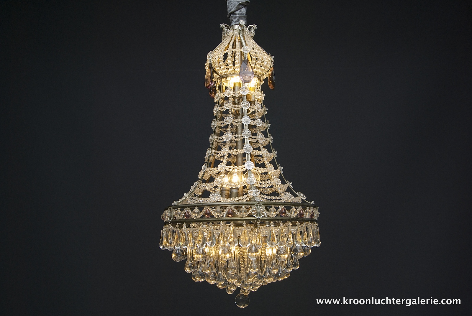 French chandelier with 13 light
