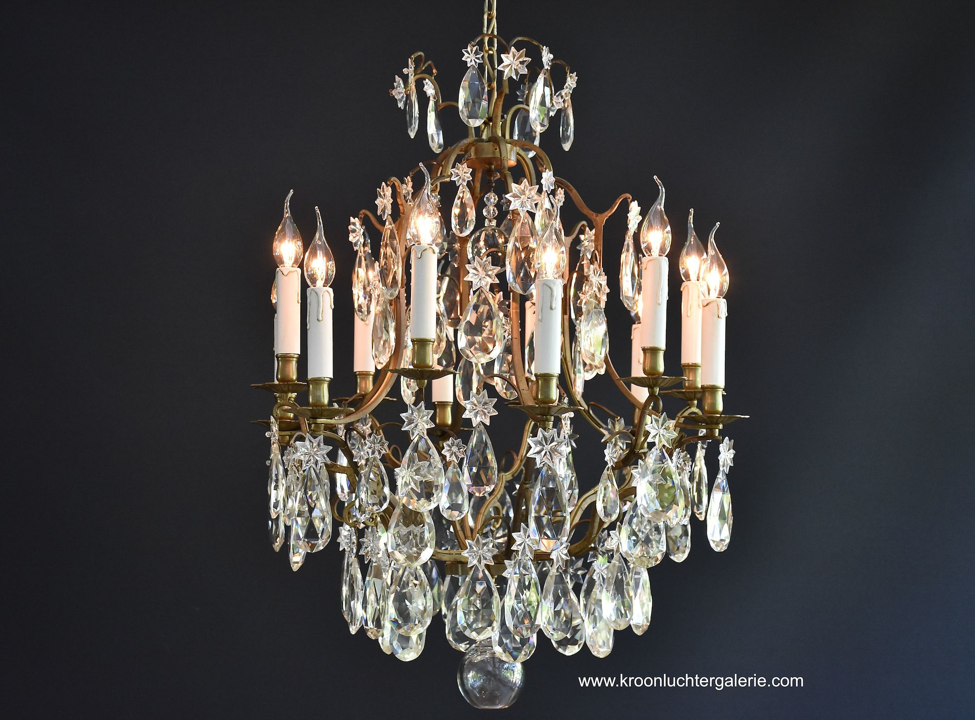 French chandelier with 12 Light