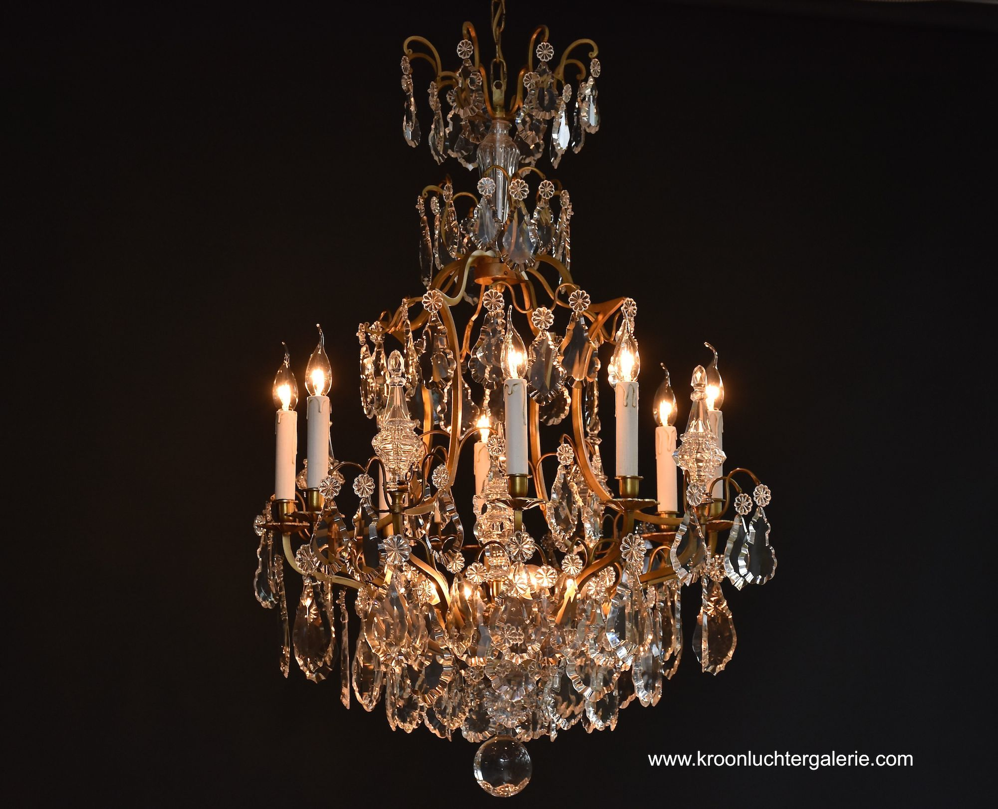 French chandelier with 12 light, Ref. 605