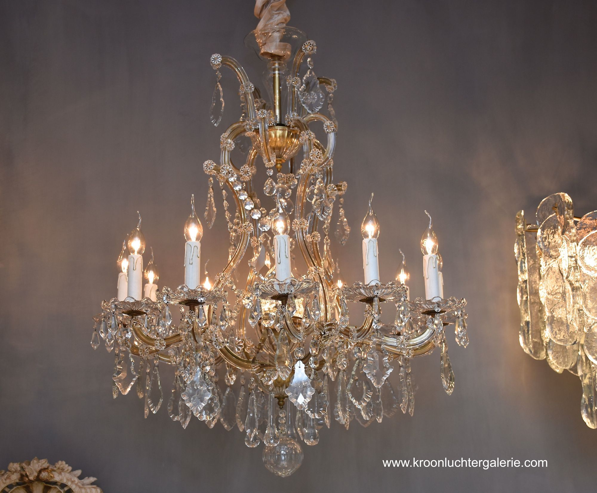 Maria Theresia chandelier with 13 light