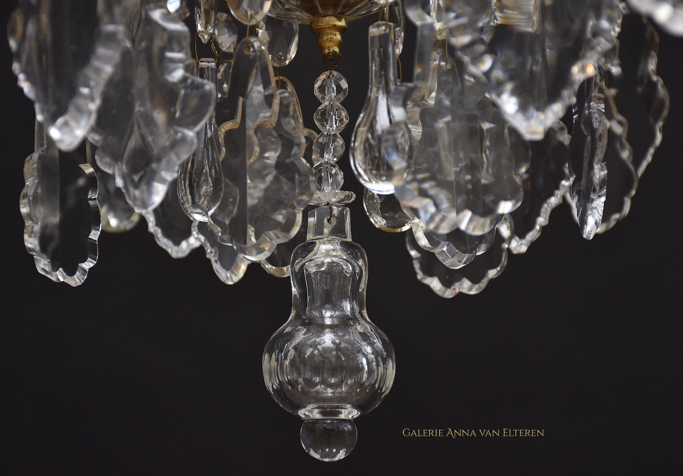 Antique chandelier 'Maria Theresia'
